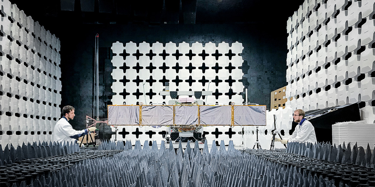ICEYE SAR-satelliitin testausta